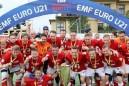 Final Czech celebration