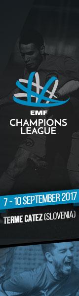 EMF Champions League 2017 Terme Catez
