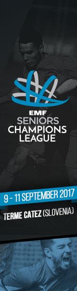 EMF SENIORS Champions League 2017 Terme Catez